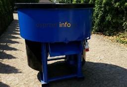 Elektryczny, bębnowy mieszalnik do betonu lub pasz
