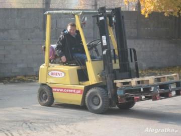 Kurs na wózki widłowe w Szubinie
