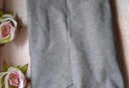 (38) Firmowa, szara spódnica ołówkowa ze złotą nitką, spódniczka z Londynu/ jak NOWA