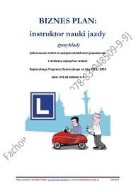 BIZNESPLAN instruktor nauki jazdy (przykład)