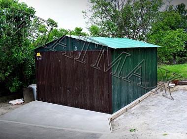 garaże blaszane-1