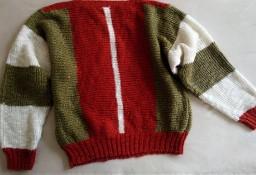Sweter w trzech kolorach  L