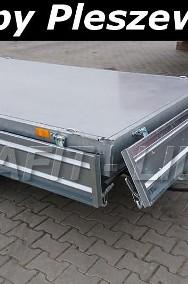 TM-089 przyczepa Tipper 2515, 254x153x30cm, kipper, wywrotka kiprowana ręcznie, burty stalowe, DMC 1500kg-2