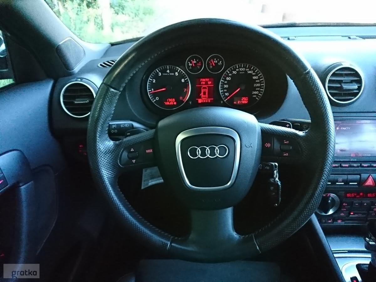 Audi A3 Ii 8p Sportback 2 0turbo 200km S Line Navi Dsg Gratka Pl Oferta Archiwalna
