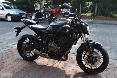 Yamaha MT 07 oryginalny stan, motocykl z niemiec, 1 ręka, 35kW
