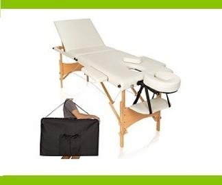 składane, przenośne łóżko do masażu
