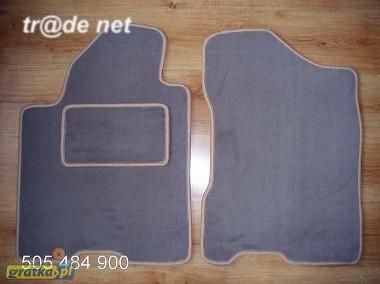 INFINITI QX56 od 2004 r. - PRZODY najwyższej jakości dywaniki samochodowe z grubego weluru z gumą od spodu, dedykowane Infiniti QX-1