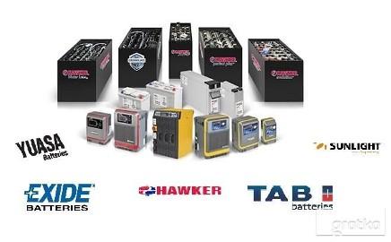 Baterie trakcyjne do wózków widłowych HAWKER/TAB/EXIDE ITP.