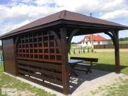 ALTANA Altanka Pergola Wiata Zadaszenie Domek 6 X 3,5m - PRODUCENT