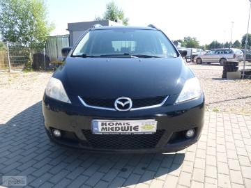 Mazda 5 I 2.0 CD Exclusive, zarejestr. 7 osób