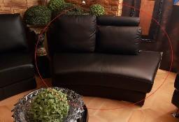 Sofa narożna skóra - modułowa wyprzedaż ekspozycji.