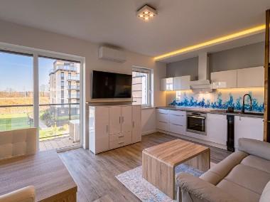 Pomorska Park apartament VIP – Sauna, Klimatyzacja, garderoba, 2 x TV-1