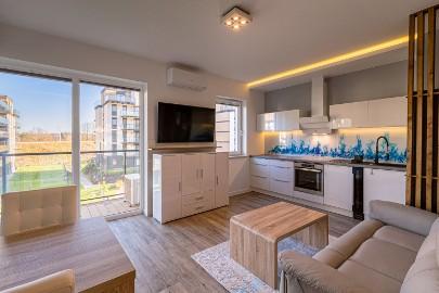 Pomorska Park apartament VIP – Sauna, Klimatyzacja, garderoba, 2 x TV
