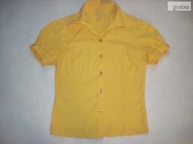 TANKO super bluzka KOSZULA żółta 34 36 XS S-1