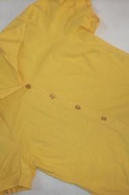 TANKO super bluzka KOSZULA żółta 34 36 XS S-2