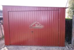 Garaż Blaszany Akrylowy Spad w Prawo 4X7