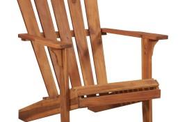 vidaXL Krzesło ogrodowe Adirondack z litego drewna akacjowego 44116