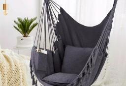 KRZESŁO BRAZYLIJSKIE hamak krzesło wiszące bujak +2 poduszki