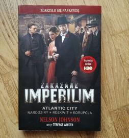 Książka - Zakazane Imperium - Nelson Johnson - Boardwalk Empire