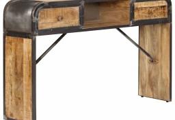 vidaXL Szafka, 120x30x75 cm, lite drewno mango247805