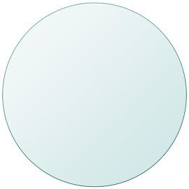 vidaXL Blat stołu, szklany, okrągły, 600 mm 243627