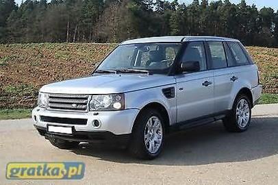 Land Rover Range Rover Sport ZGUBILES MALY DUZY BRIEF LUBich BRAK WYROBIMY NOWE