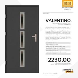 Drzwi wejściowe stalowe SETTO model VALENTINO PLUS