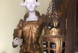 UNIKAT -> Stylowa lampa RZEŹBA kobiety