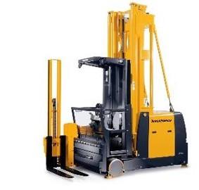 Kurs na wózki widłowe specjalizowany (operator wraz z towarem podnosi się do góry) kat. IWJO
