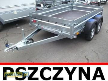 Przyczepa towarowa Faro Solidus 2-osiowa 263x150x35cm Fabrycznie nowa!
