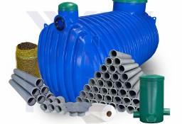 Przydomowa ekologiczna oczyszczalnia ścieków 4000L drenaż 72mb