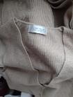 (38/M) Długi sweter z Madrytu/sukienka/płaszcz/ 100% wełna owcza/ jak NOWY