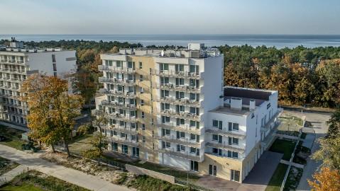 Apartament Mielno-Holiday*401 na samym morzem.