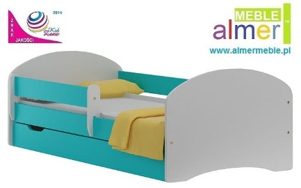 AQUA N20S łóżko dziecięce z SZUFLADA 160/80
