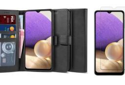 Etui Wallet 2 + szkło do Samsung Galaxy A32 5G