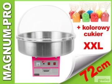 Maszyna do waty cukrowej XXL wata cukrowa + kolorowy cukier gratis