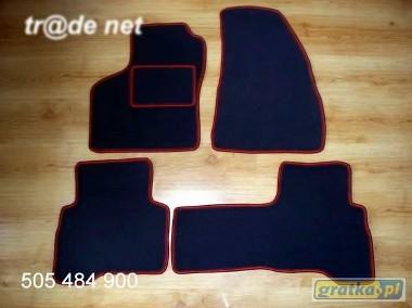 Citroen Nemo 5 os od 2008r. najwyższej jakości dywaniki samochodowe z grubego weluru z gumą od spodu, dedykowane Citroen Nemo-1