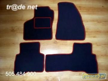 Citroen Nemo 5 os od 2008r. najwyższej jakości dywaniki samochodowe z grubego weluru z gumą od spodu, dedykowane Citroen Nemo