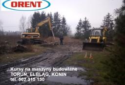 Kurs koparko ładowarka Toruń Konin Elbląg