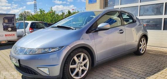 Honda Civic VIII 1.8 140 KM alufelgi klima opłacony gwarancja