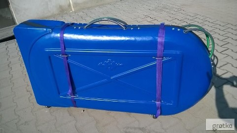 Box plastikowy do pakowania roweru 27 i 29cali