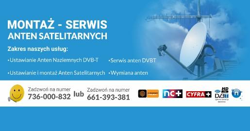 Montaż Serwis Ustawianie Instalacja Anten Satelitarnych Wola Murowana i okolice