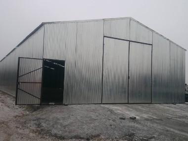 Garaże blaszane, wiaty, hale, blaszaki-1