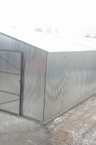 Garaże blaszane, wiaty, hale, blaszaki-2