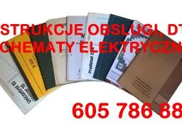 Instrukcje obsługi, dtr, katalogi części, schematy elektryczne maszyn stol.