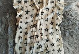 Bluzka w stylizowane gwiazdy  S  Zara