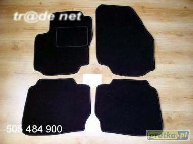 Ford Mondeo MK4 od 10.2007 do 2014 r. najwyższej jakości dywaniki samochodowe z grubego weluru z gumą od spodu, dedykowane Ford Mondeo-1