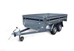 Martz Tema Hochlader 300/2 - dwuosiowa, transportowa, koła pod powierzchnią ładunkową, oc