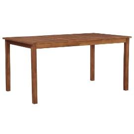 vidaXL Stół ogrodowy, 150x90x74 cm, lite drewno akacjowe 44105