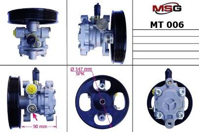 Pompa wspomagania hydraulicznego Mitsubishi Lancer MT006